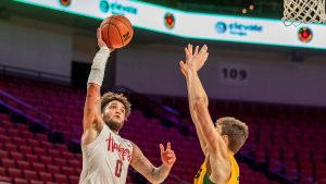 Huskers Bounce Back With Win