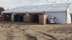 Mobile food distribution in Lexington on Thursday, January 21