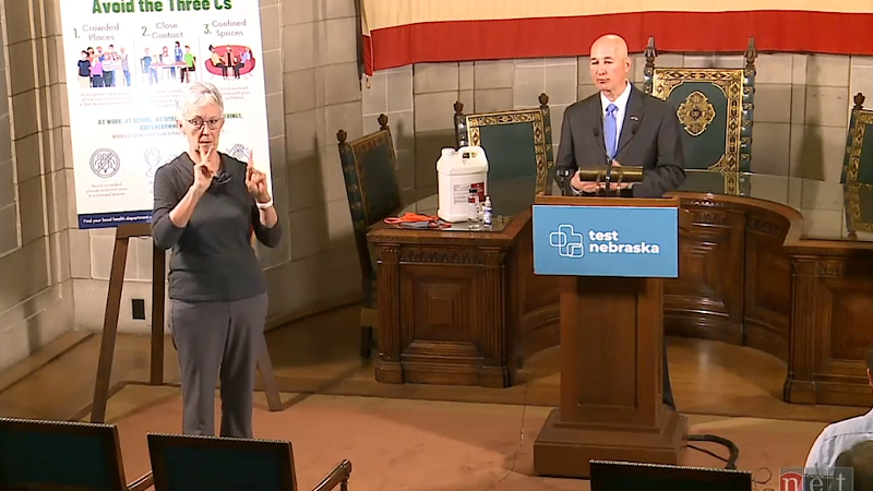 Ricketts Announces Stricter Gathering Limits, Some Mask Requirements