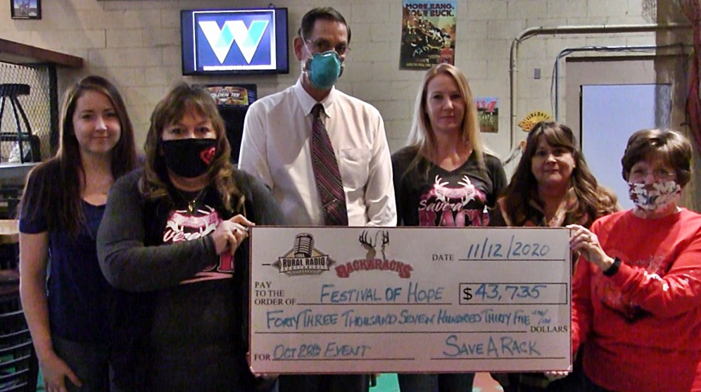 Over $43K Raised for Festival of Hope Through Annual Bra Auction