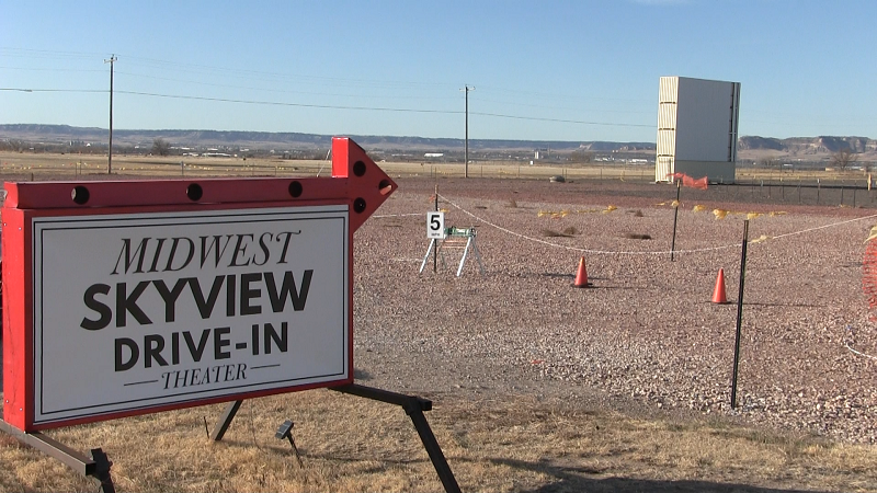 Temporary Repairs to Allow SkyView Drive-In Re-Opening This Weekend