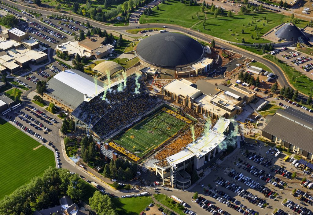 University of Wyoming Athletics Reduces Maximum Number of Fans Allowed at Upcoming UW Athletics' Events