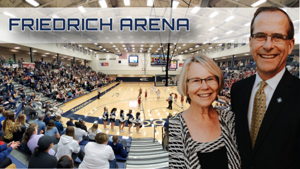 Arena naming a fitting honor for Friedrichs