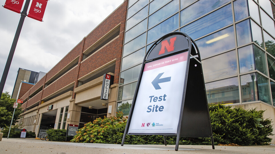 UNL to require most students, staff to be tested every two weeks for COVID-19