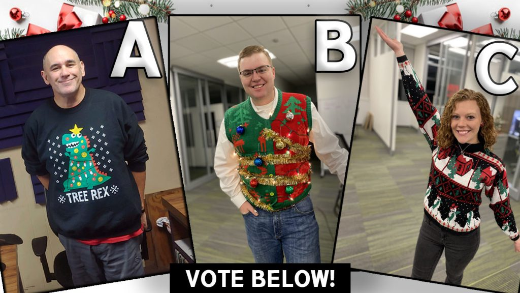 VOTE NOW: 2020 Max Country Ugly Sweater Contest
