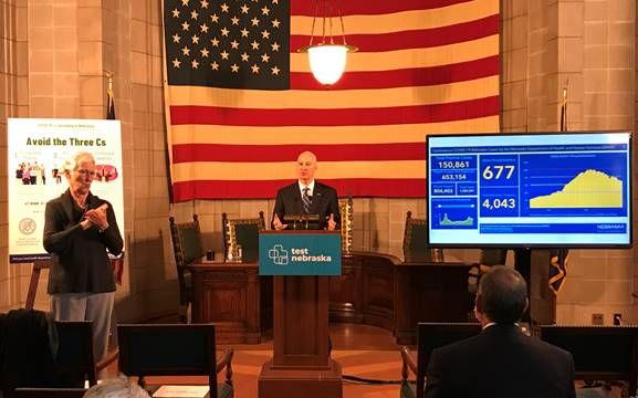Gov. Ricketts Highlights Start of Coronavirus Vaccinations; Calls on Nebraskans to Donate Blood