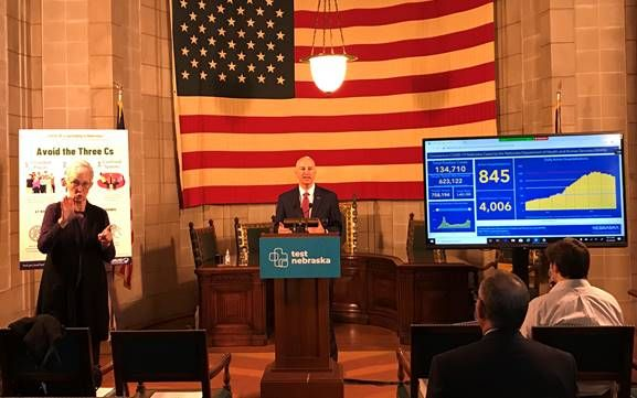 Gov. Ricketts Announces Shortened Quarantines, Guidance for Essential Caregiver Visitation in Long-Term Care Facilities
