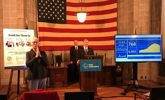 Gov. Ricketts, Univ. of Nebraska President Carter Highlight Successful Fall Semester at State Universities