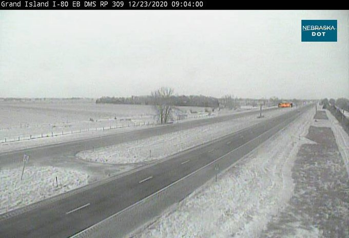 Nebraska DOT & State Patrol report extremely dangerous driving conditions
