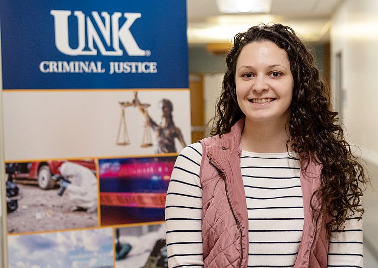 Sight unseen, Jessica Peterson finds everything she was looking for at UNK