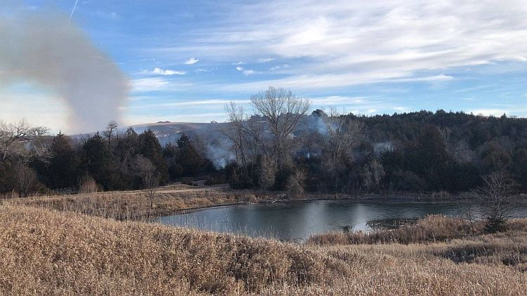 Multiple communities respond to grass fire near Oconto