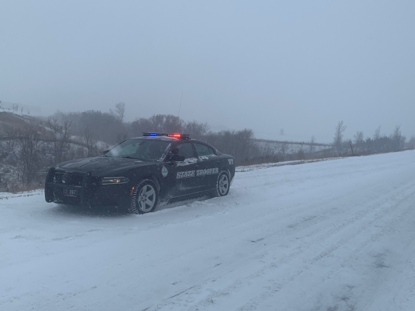 Troopers Respond to Over 200 Weather-Related Incidents