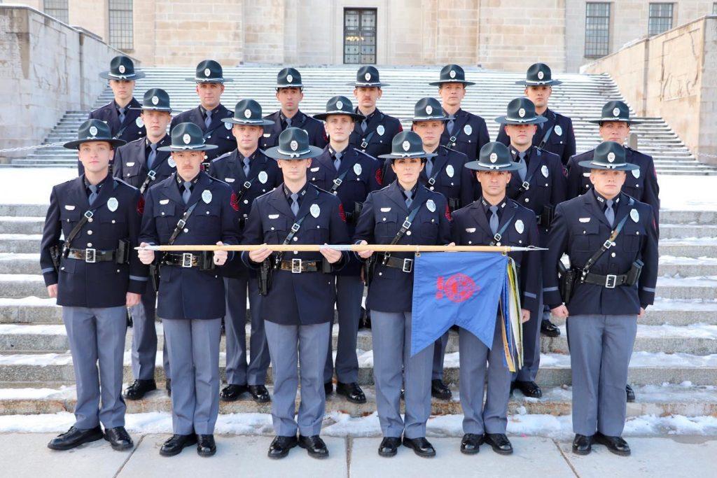 Nebraska State Patrol Graduates 63rdRecruit Class