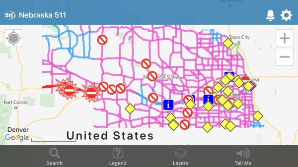I-80 closed in the Panhandle