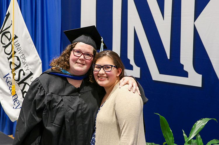 Inspired by daughter's strength, Alecia Amezcua earns master's degree through UNK