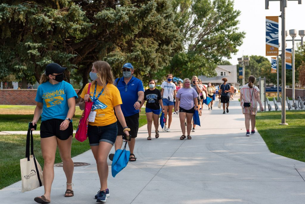 'Everyone gave more': UNK completes challenging fall semester