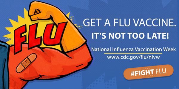 National Influenza Vaccination Week is Dec. 6-12