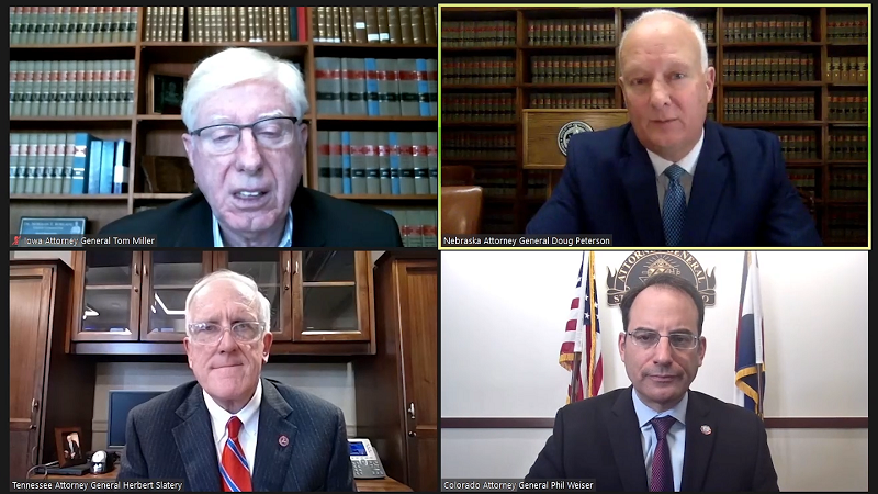 Nebraska, Dozens of States File Anti-Trust Suit vs. Google