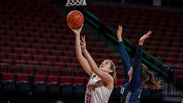 Huskers Fly By Golden Eagles