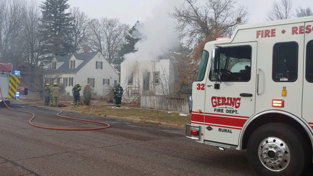 One Person Dies in Thursday Afternoon House Fire in Gering