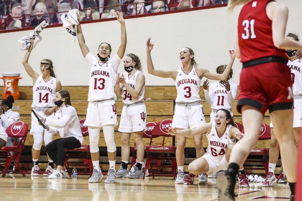 Hoosiers Handle Huskers Easily