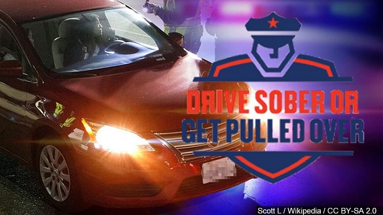 (AUDIO) Law Enforcement will be Cracking Down Drive Sober or Get Pulled Over Campaign