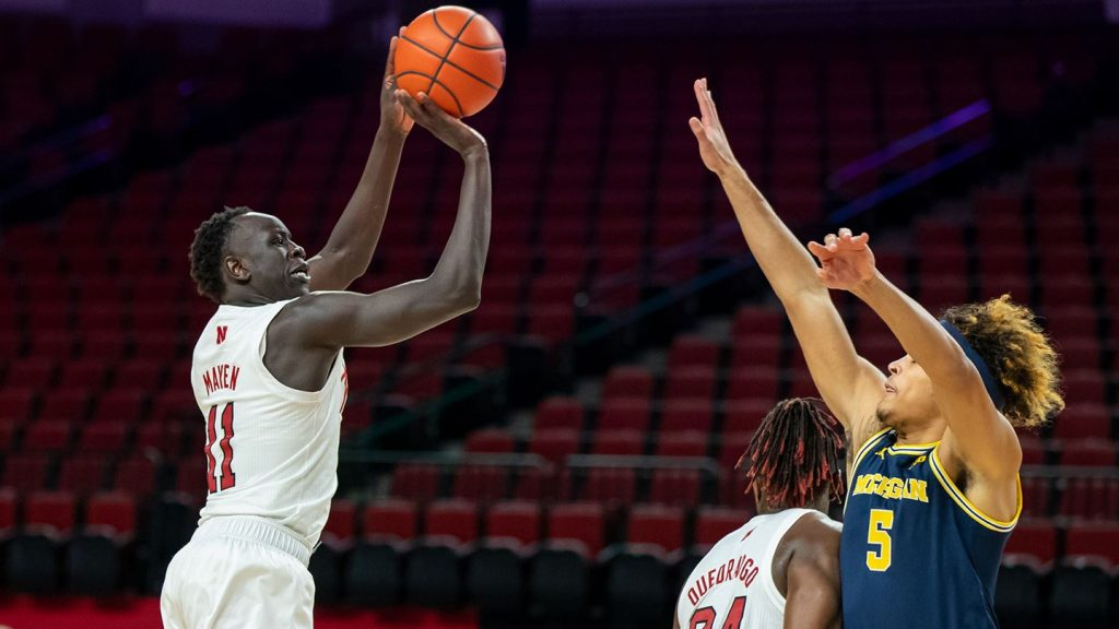 Huskers battle No. 25 Buckeyes Wednesday night