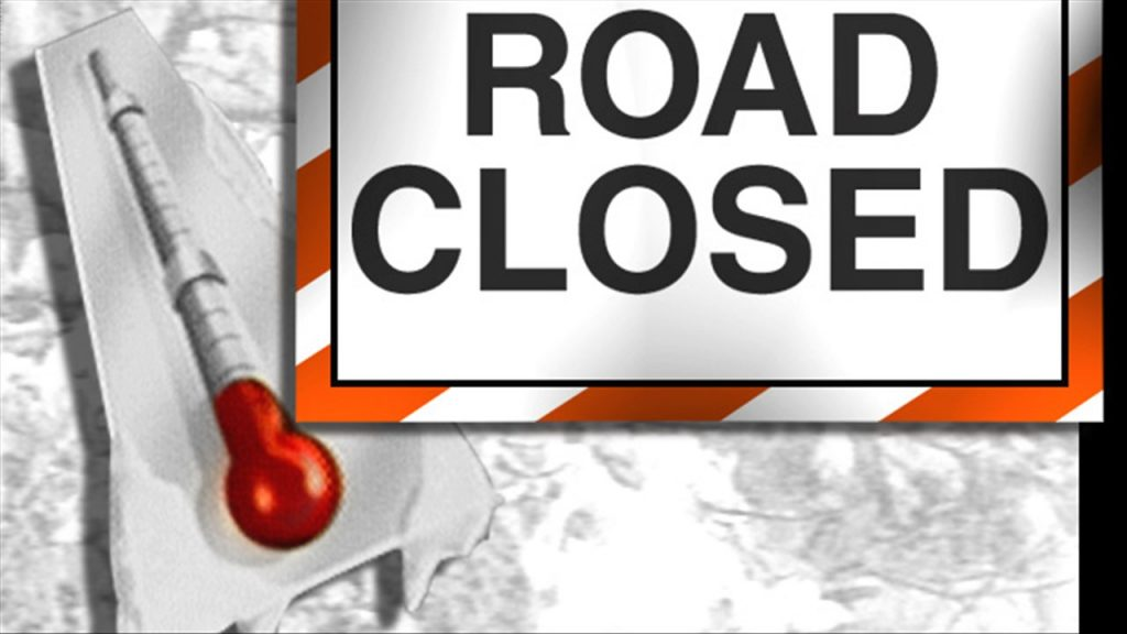 All area roadways re-opened