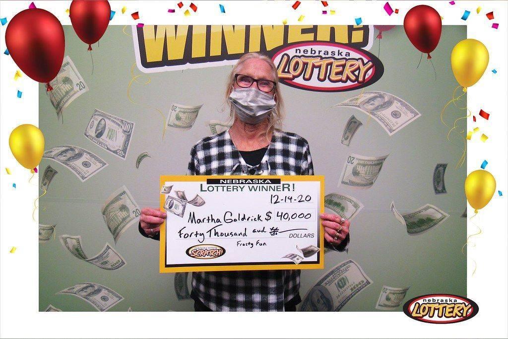 Alliance Woman Wins $40,000 on Nebraska Lottery Scratch Ticket