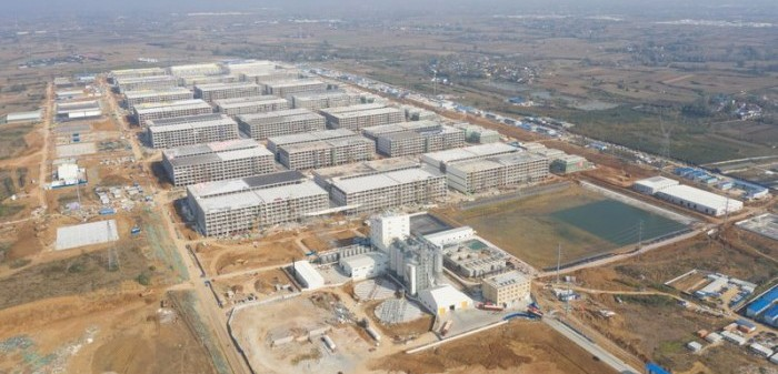 Massive Chinese hog farm to produce 2.1 million pigs per year