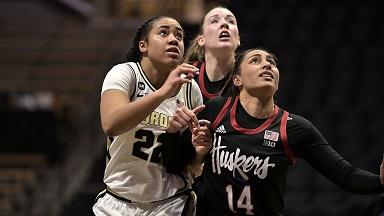 Husker Women lose at Purdue