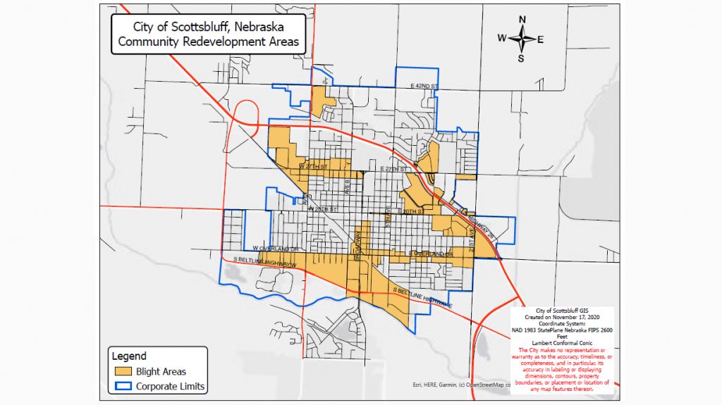 Scottsbluff Citywide Facade Improvement Program Awaiting Initial Applications