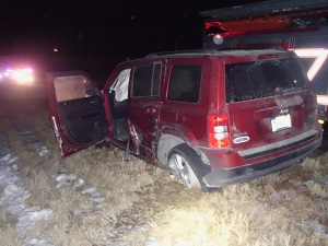 Stanton County Accident sends one to Hospital