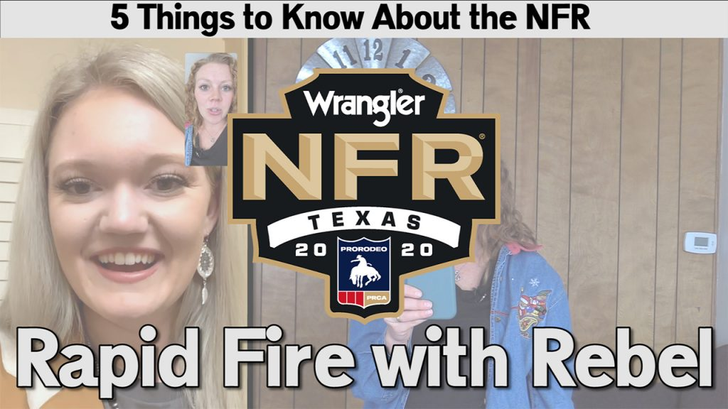 Rapid Fire for National Finals Rodeo | Friday Five | Dec. 11, 2020