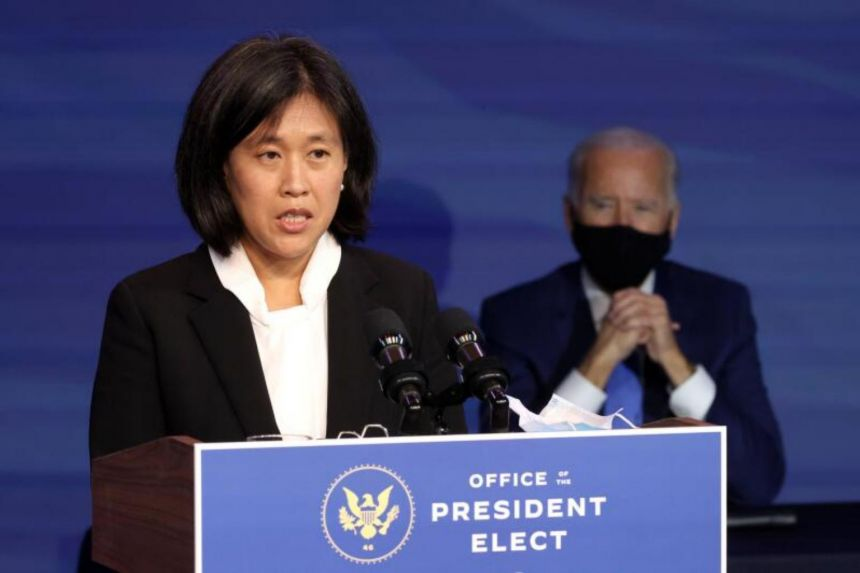 Biden nominates Tai to be new U.S. Trade Representative