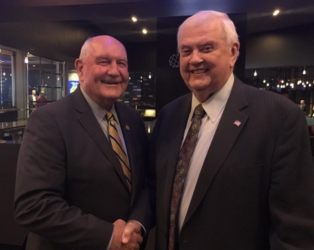 USDA Secretary Sonny Perdue issues proclamation honoring longtime broadcaster Orion Samuelson
