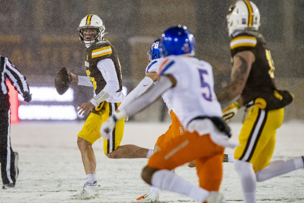 Wyoming loses close one to Boise State