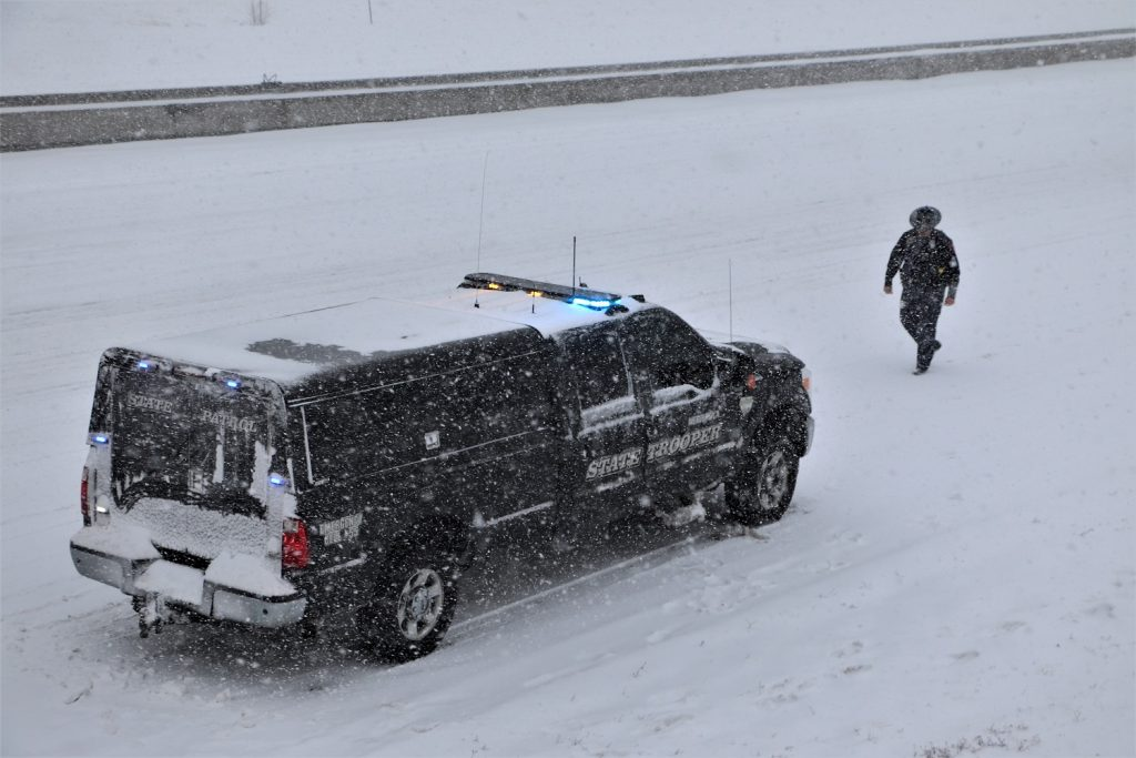 Troopers Respond to Hundreds of Incidents as Snow Blankets Nebraska