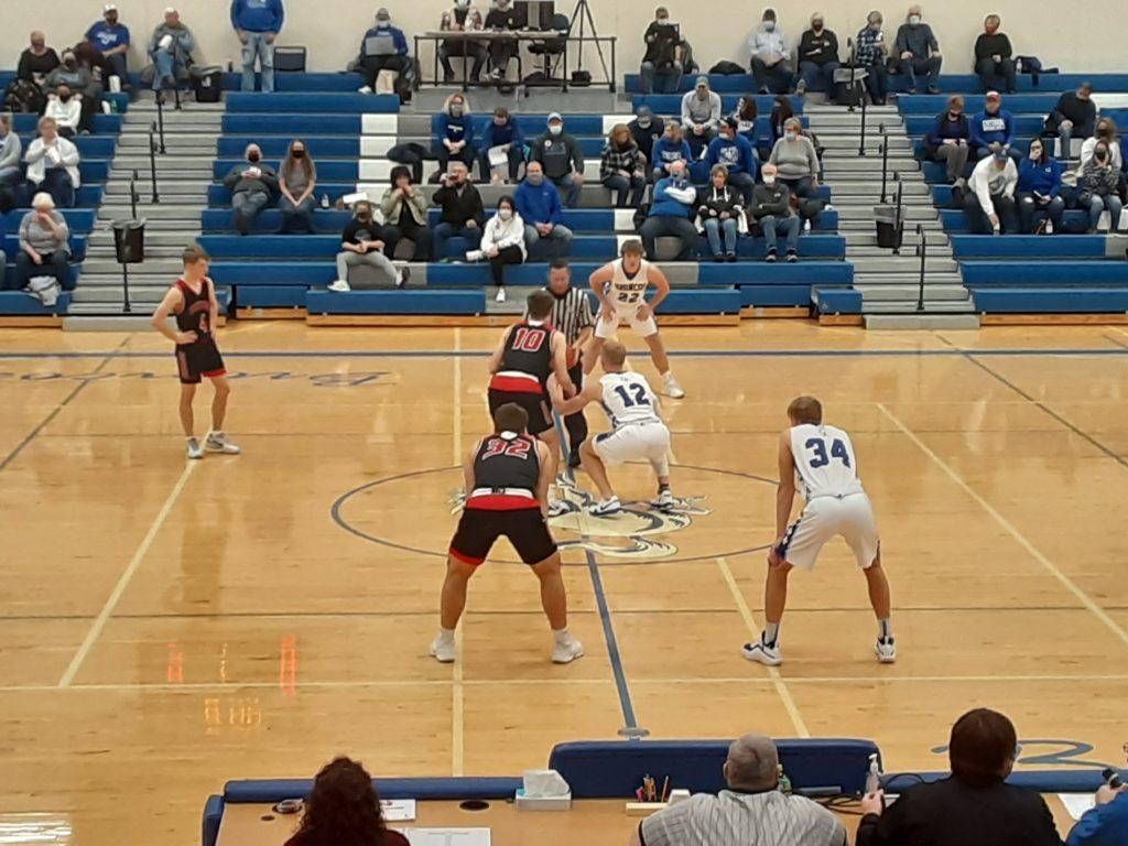 Sutton and Centennial battle Friday evening on the court, split games