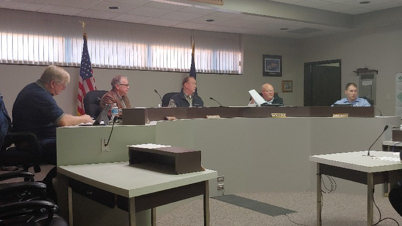 Commissioners Approve Bid for Five Miles of Stegall Road Repairs