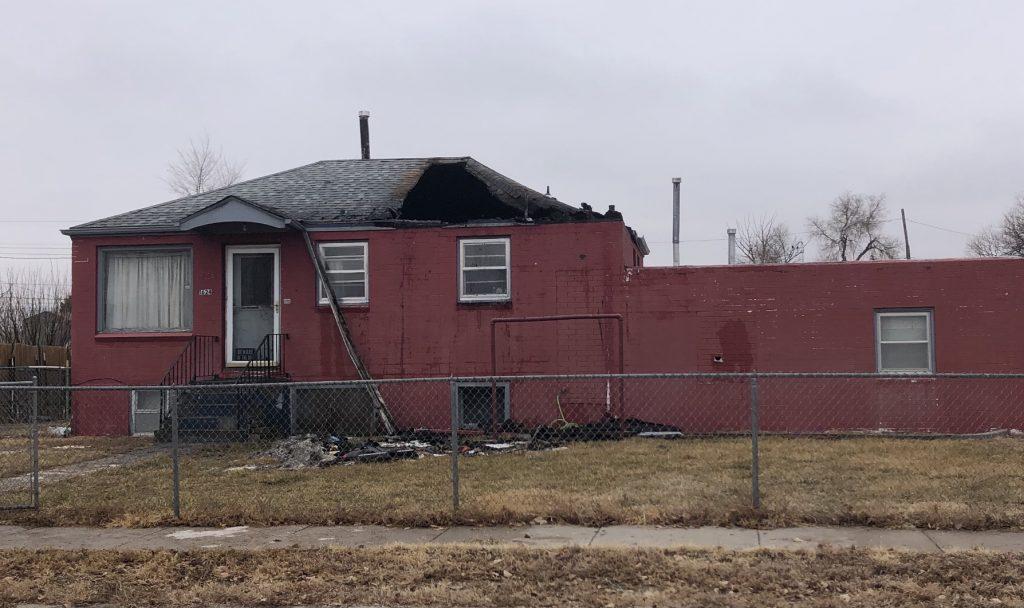 Saturday Morning Blaze Damages Scottsbluff Home