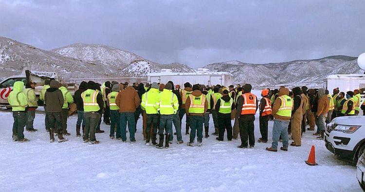 Nebraska techs return home after restoring service in Aspen