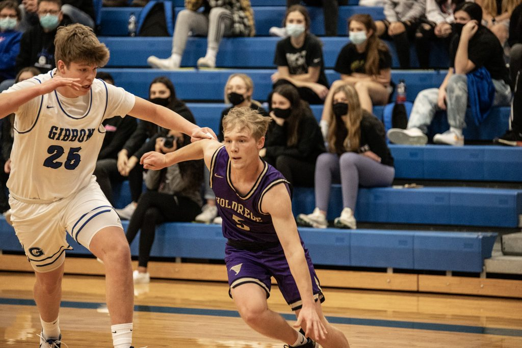 (AUDIO) – Holdrege Boys Battle Gibbon, Fall in Final Minutes