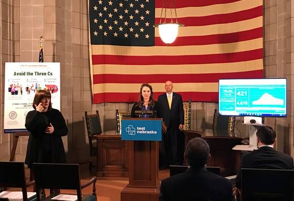 Gov. Ricketts, DHHS Leaders Provide Update on Coronavirus Vaccination and Reporting