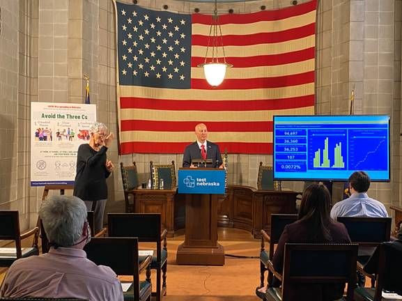 Gov. Ricketts, Health and Human Services Provide Coronavirus Vaccination Update