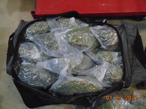 Troopers Find 60 LBs of Marijuana in I-80 Traffic Stop