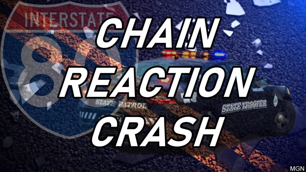 Trooper Injured in Chain-Reaction Crash near Chappell