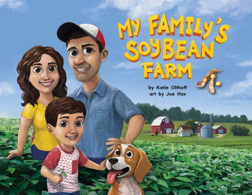 New book helps kids connect with soybean farms