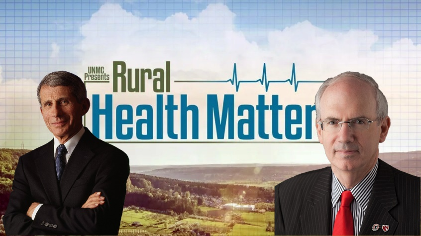 "Anthony Fauci, MD, to Appear Monday with Dr. Gold on RFD-TV's ""Rural Health Matters"""
