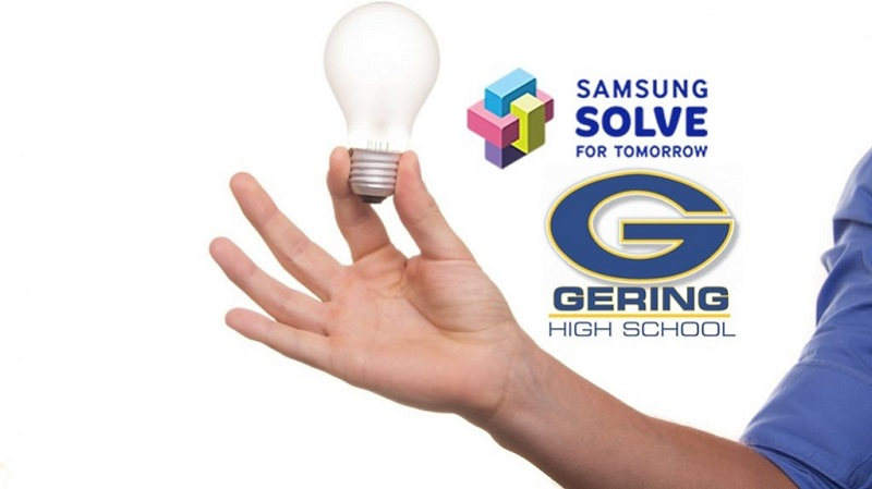 GHS Student Project Makes 2nd Round of Samsung 'Solve for Tomorrow'